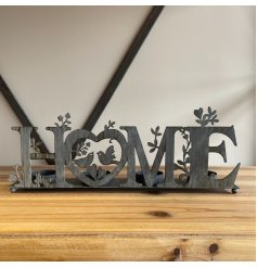 A Rustic Style Metal Four Candle Holder