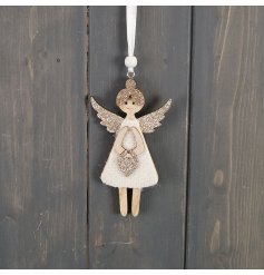 Perfect for adding an Angelic touch to your home or tree display at Christmas Time