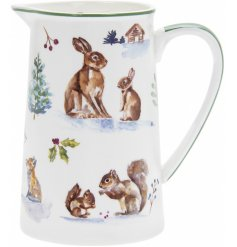 this China Jug is part of a charming new range of home and kitchenwares