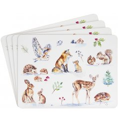 this set of placemats is part of a charming new range of home and kitchenwares