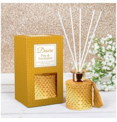 Bring a festive inspired scent to your home with this beautifully designed Desire Diffuser
