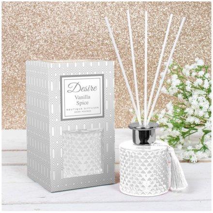 Vanilla Spice Scented Diffuser, 200ml