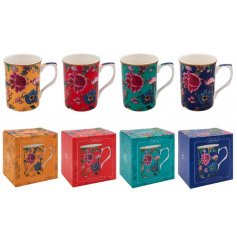 Sure to add a splash of colour and vintage touch to any kitchen space,