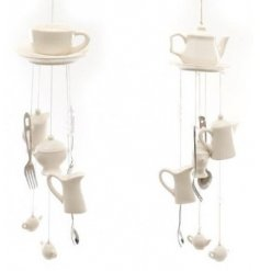 Bring a musical hint to any garden space with the help of these beautiful and quirky themed wind chimes
