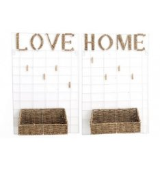 this mix of Home and Love themed wall organisers are a must have for the home