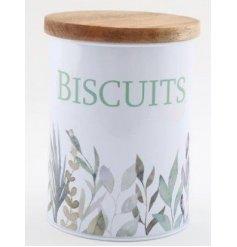 Olive Range Biscuit Tin