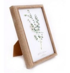A chic and simple natural wooden looking picture frame