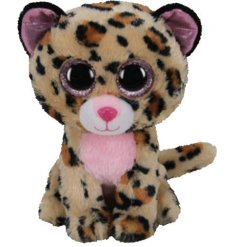 From the TY Beanie Boo Range meet Livvie, who is an adorable Leopard soft toy.