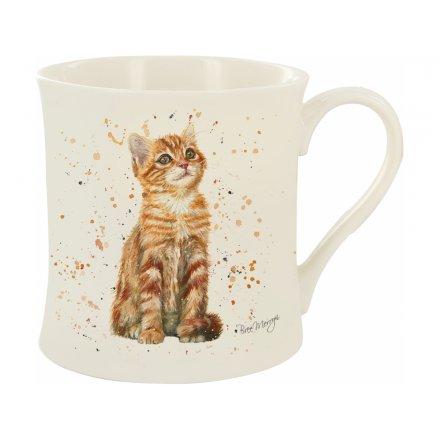 Bree Merryn Pumpkin The Ginger Cat Mug