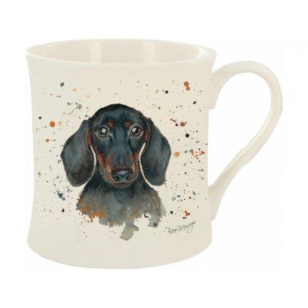 Sid The Dachshund Bree Merryn Mug