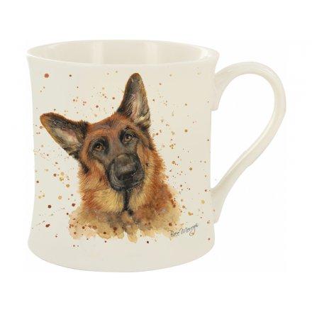 Gerald The German Shepherd Bree Merryn Mug