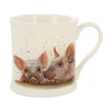 Splash Art Piggies Mug