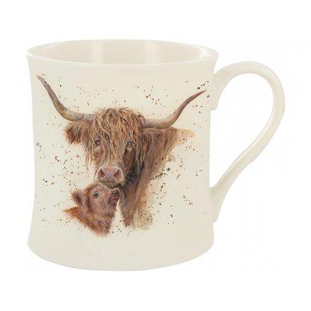Harmony Highland Cows China Mug