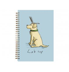 Cute A6 Doggy Note Book