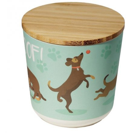 Perfect place to put dog treats and not forget where you put them!