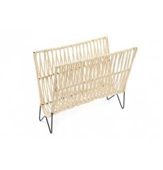 Natural Rattan Magazine Rack