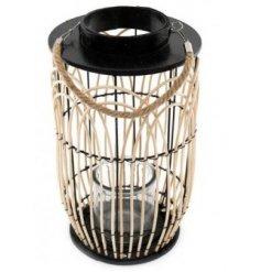 Natural Wicker Lantern
