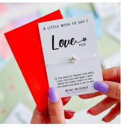 A small, simple and sentimental gift idea for any one who needs to know they're loved,