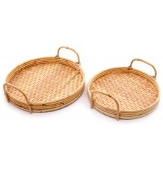 Perfect for adding a natural charm to your home, these bamboo trays will perfectly tie in with any neutral themed space