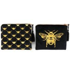 Bee Motif Makeup Bag