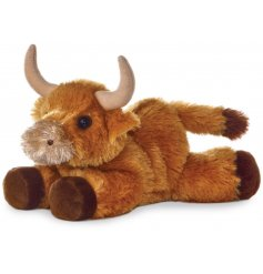 this Bull named Mac will make a perfect cuddle companion for little ones