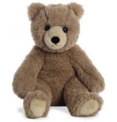Filled with soft and snuggly stuffing, this bear soft toy will be sure to make a wonderful cuddle companion to little on