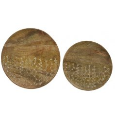 Decorative display plates, for use of finding your keys or displaying in your hallway.