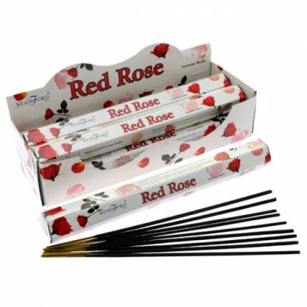 Red Rose Incense Sticks By Stamford