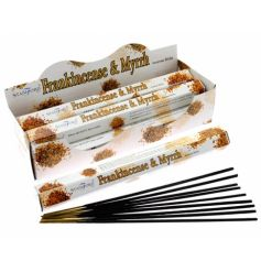 Frankincense & Myrrh. Stamford Incense have perfect scents for everyone.