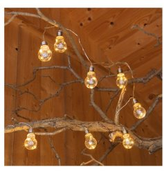 Hang these up in the garden to provide a touch of extra light for your evenings