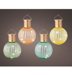 These will add colour and extra light for your evenings.