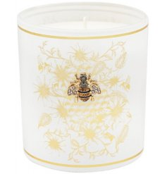 Bee Design Candle