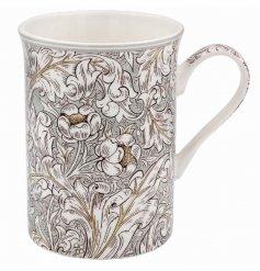 A Pretty Floral Vintage Ceramic Mug