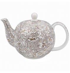 A Vintage Inspired Ceramic Tea Pot
