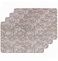 Traditional Styled Set of 4 Placemats