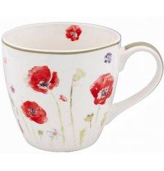 Breakfast Mug Poppy Field Range