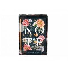 Botanical Love Notepad and Pen Set