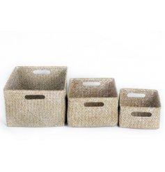 Set of 3 Storage Baskets