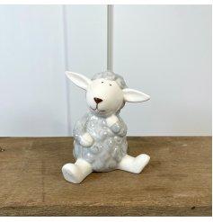 A Cute Medium Ceramic Sheep