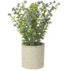 A Stunning Artificial Flower Plant in Netural Pot