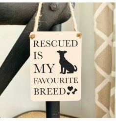 A sweet sentimental quote for Rescued Dog Lovers