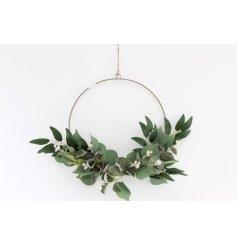 A Stunning Metal Wreath Decoration