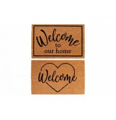 A Charming Assortment of Two Welcome Mats