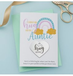 A Sweet Aluminium Silver Engraved Heart with Card