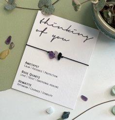 A Sweet and Sentimental Crystal Bracelet