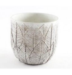 A Woodland Inspired Cement Planter