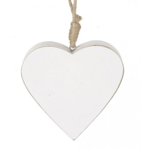A Charming White Wooden Hanger