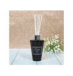A Luxury Styled Black Diffuser with Pomegranate Scents