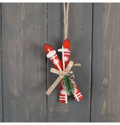 A Traditional Styled Pair of Hanging Sleighs