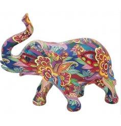 A Colourful Elephant Ornament